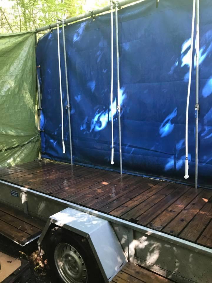 Campingfeeling zur Vätternrundan 2017 im schwedischen Wald