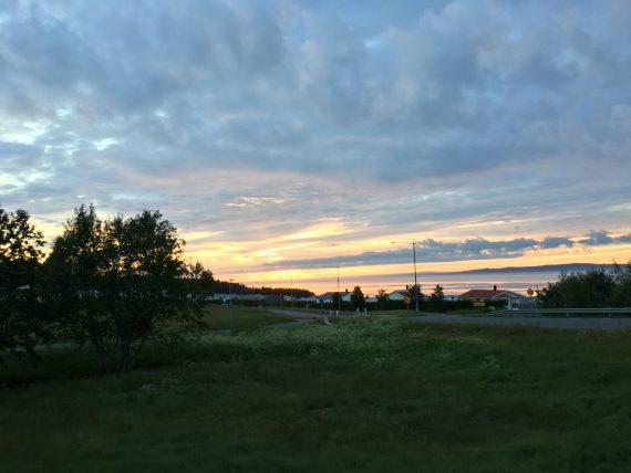Sonnenaufgang am Vätternsee