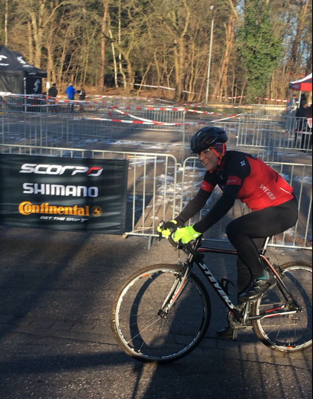 Stevens Cyclocrosscup in Buchholz