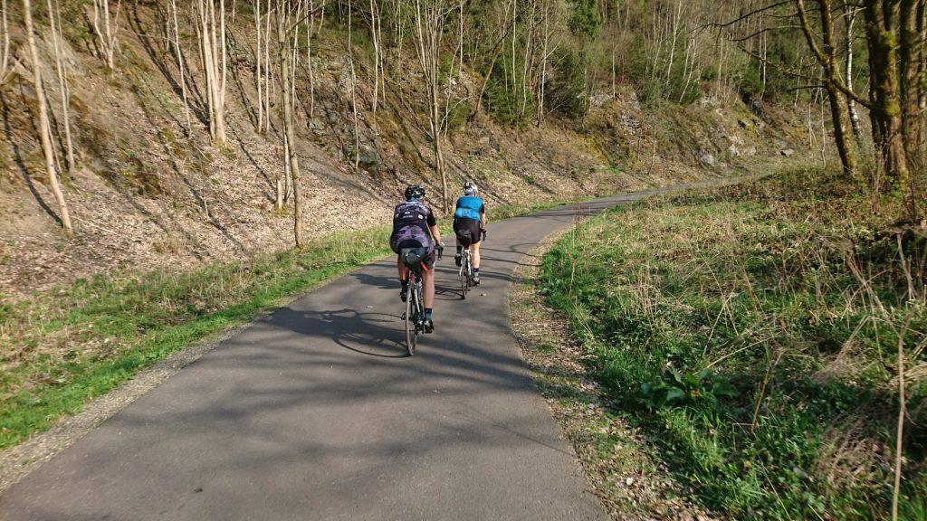 Okertalsperre auf dem Weg nach Torfhaus
