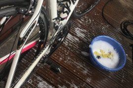 In 5 Schritten zum sauberen Rennrad