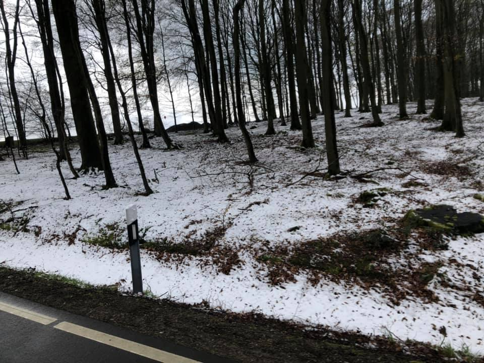 Schnee 300km Brevet Hamburg