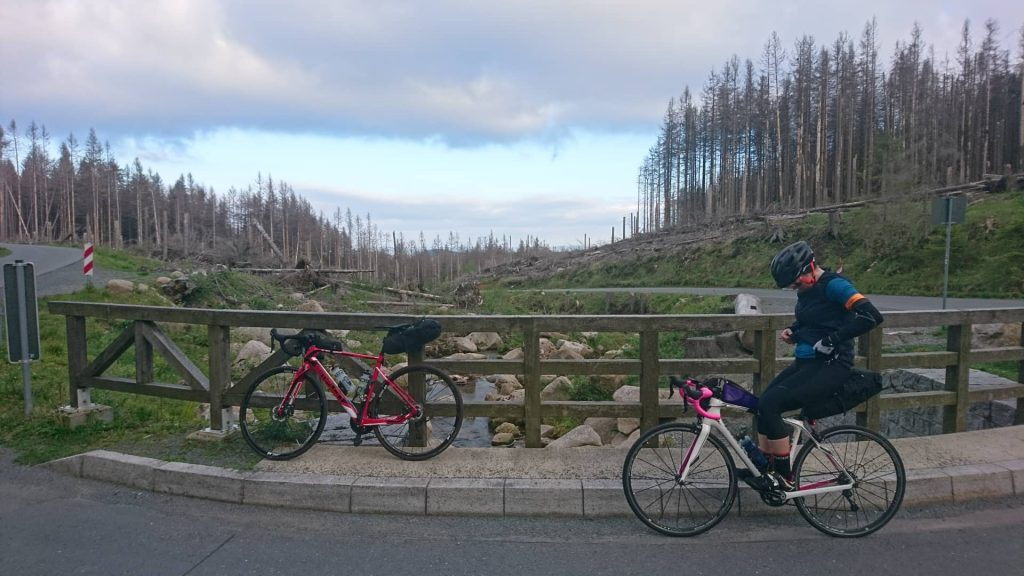 Brockentour mit dem Rennrad