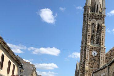 Schöne Dorfer bei Paris-Brest-Paris auf der Strecke