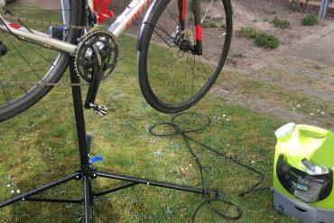 Crossrad waschen und pflegen