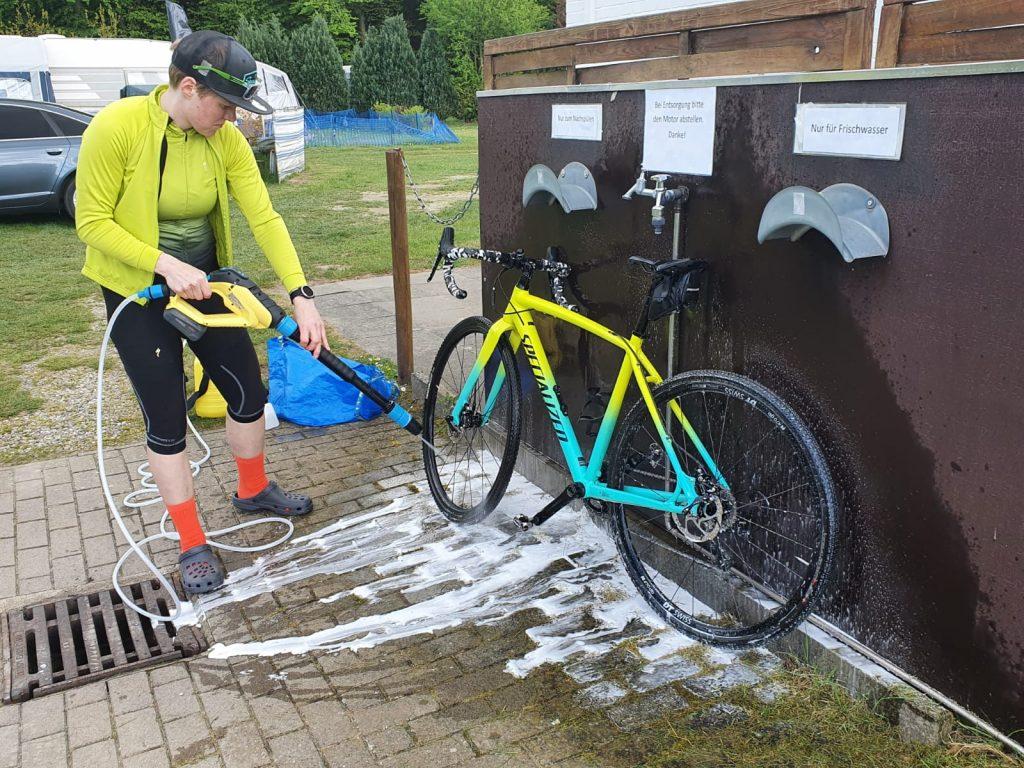 Klarspülen am Crossrad mit der MultiJet